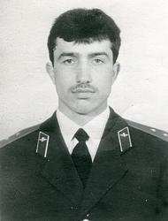Масмалиев Джахангир Масмалиевич, Старший прапорщик